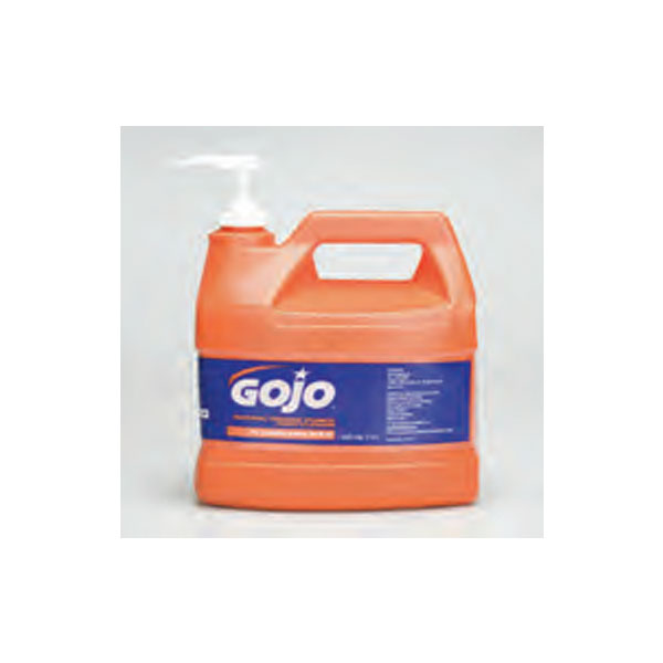 Gojo-Hand-Cleaner-One-gallon-bottle-with-pump-dispenser