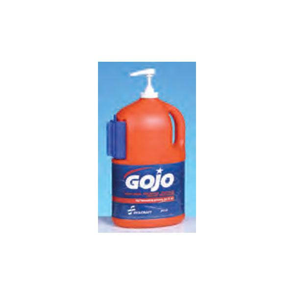 Gojo-Hand-Cleaner-One-half-gallon-bottle-with-pump-dispenser
