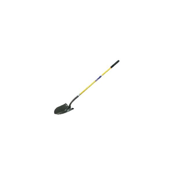 Round Point Shovel (Closed Back) (Long Handle)