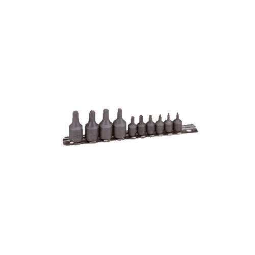 "3/8"" Socket Screwdriver Bit Set (Hex Tip)"
