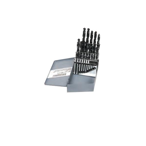 Drill Bit Set (High Speed Steel) (25 Piece Set)