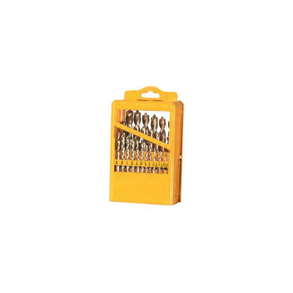 Drill Bit Set (High Speed Steel) (29 Piece Set (Metal Indexed Case))